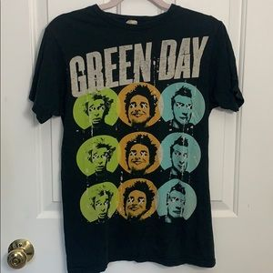 Green Day Band Tee